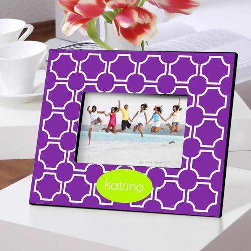 Personalized Color Bright Frames - PurpleLattice - JDS