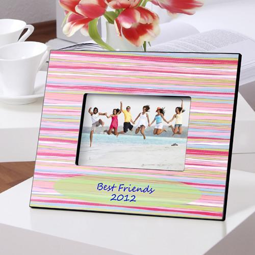 Personalized Color Bright Frames - Watercolors - JDS