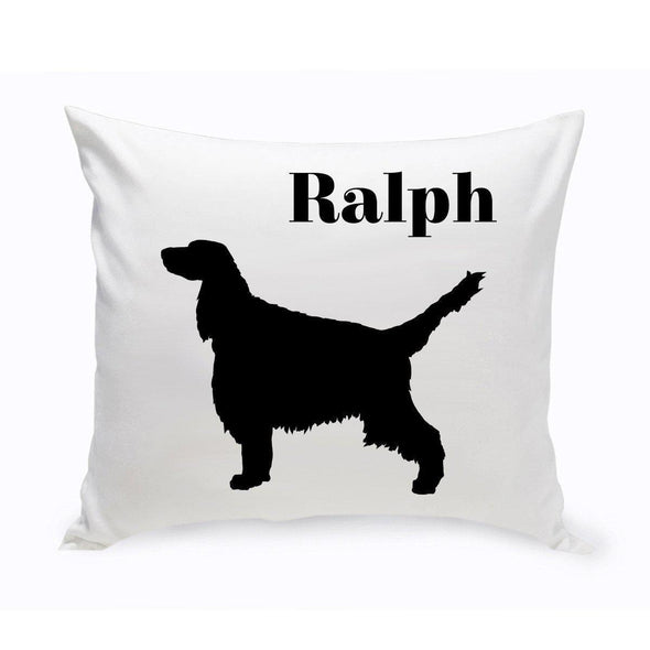 Personalized Dog Throw Pillow - EnglishSpringerSpaniel - JDS
