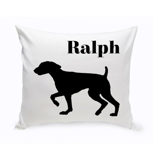 Personalized Dog Throw Pillow - SpringerSpaniel - JDS