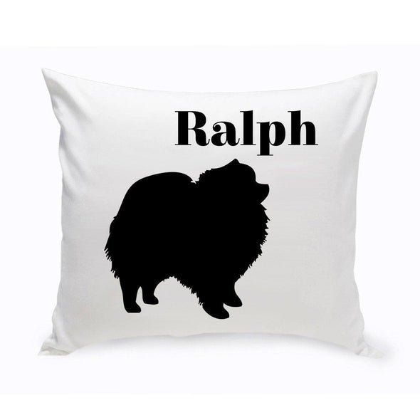 Personalized Dog Throw Pillow - Pomeranian - JDS