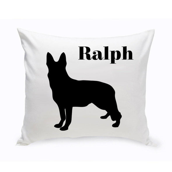 Personalized Dog Throw Pillow - GermanShepherd - JDS