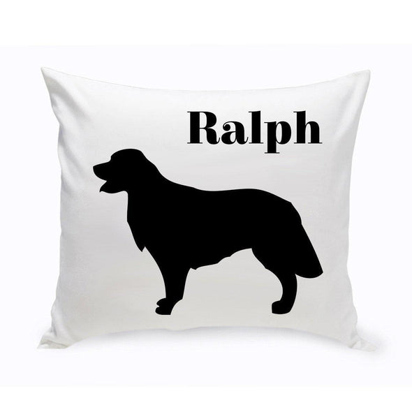 Personalized Dog Throw Pillow - GoldenRetriever - JDS