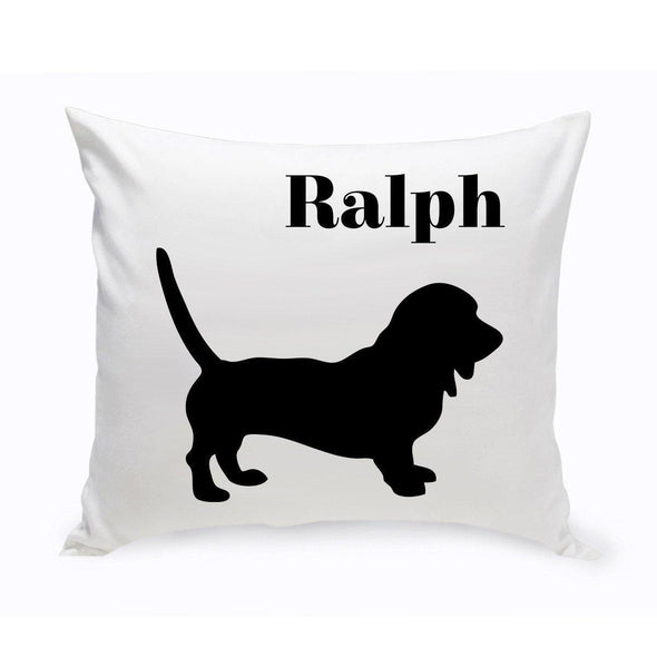 Personalized Dog Throw Pillow - Dachsund - JDS
