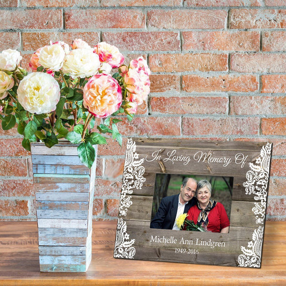 Personalized Memorial Frame - Brown - JDS