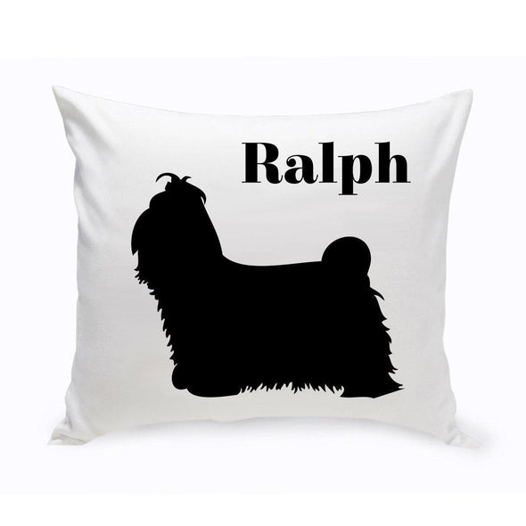 Personalized Dog Throw Pillow - ShihTzu - JDS
