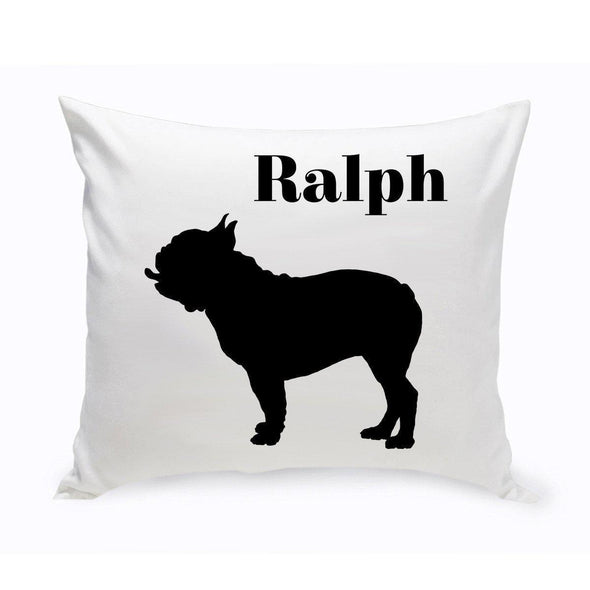 Personalized Dog Throw Pillow - AmericanBulldog - JDS
