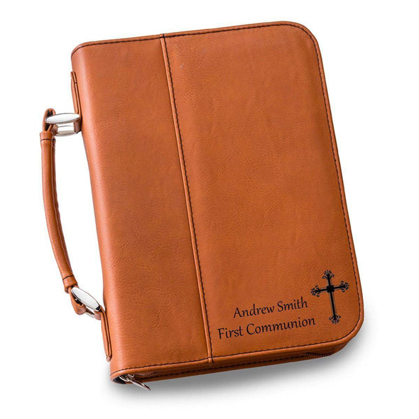 Personalized Leather Bible Cover - 6 Colors - Rawhide - JDS