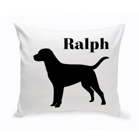 Personalized Dog Throw Pillow - Labrador - JDS