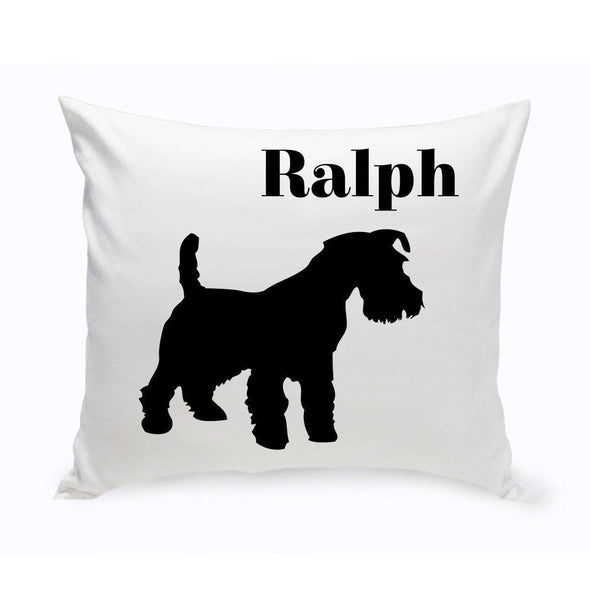 Personalized Dog Throw Pillow - ScottishTerrier - JDS