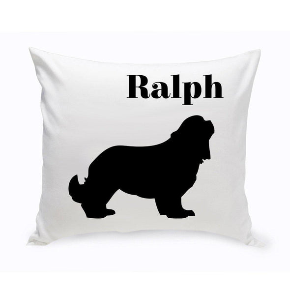 Personalized Dog Throw Pillow - CockerSpaniel - JDS