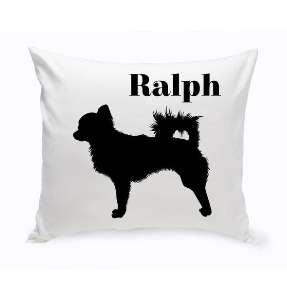 Personalized Dog Throw Pillow - Chihuahua - JDS