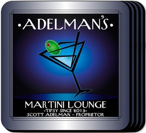 Personalized Coaster Set - AfterHours - JDS