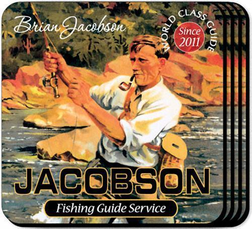 Personalized Coaster Set - FishingGuide - JDS