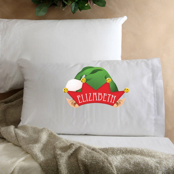 Personalized Kids Christmas Character Pillowcase - Elf - JDS