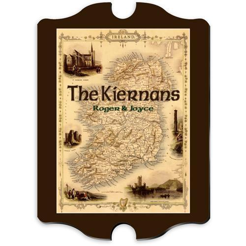 Personalized Irish Family Vintage Sign -  - JDS