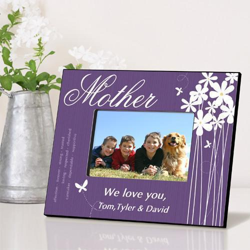 Personalized Bloomin' Butterfly Frame - All - Mother - JDS