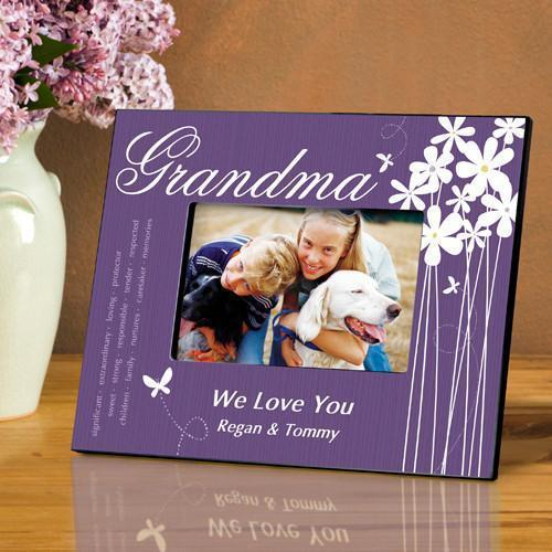 Personalized Bloomin' Butterfly Frame - All - Grandma - JDS