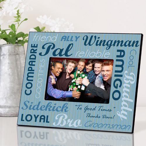 Personalized Best Buds Frame - Groomsman - JDS