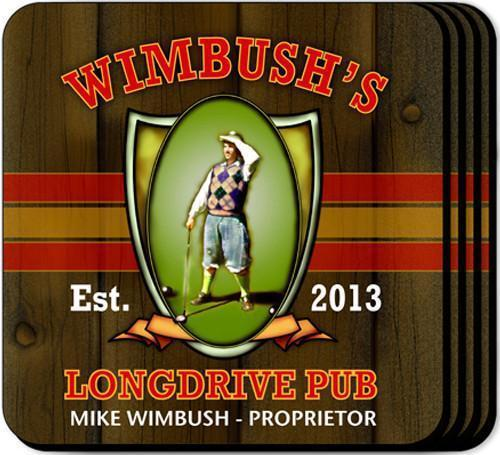 Personalized Coaster Set - LongDrive - JDS