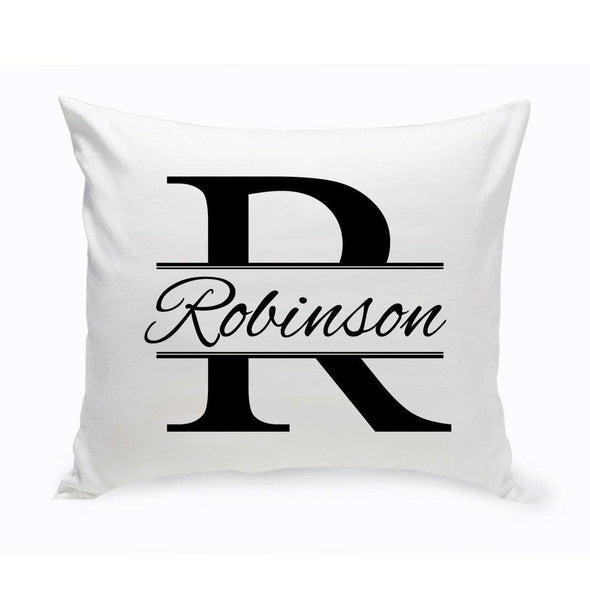 Personalized Stamped Design Throw Pillow -  - JDS