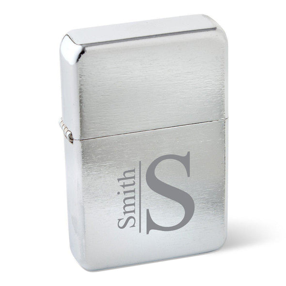 Personalized Stainless Steel Wind Proof Lighters- 4 Designs - Modern - JDS