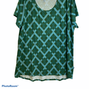 Primary Photo - BRAND: LULAROE STYLE: TUNIC SHORT SLEEVE COLOR: GREEN SIZE: 3X SKU: 311-31114-7603