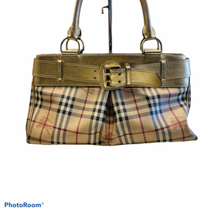 Primary Photo - BRAND: BURBERRY STYLE: HANDBAG DESIGNER COLOR: BURBERRY PLAID SIZE: LARGE OTHER INFO: ITTIVGRO58CAL SKU: 311-31130-5072STUNNING BAG WITH A FEW BEAUTY MARKS ON THE CORNERS.