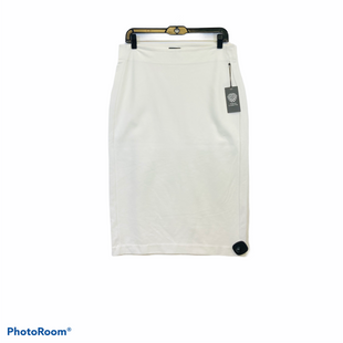 Primary Photo - BRAND: VINCE CAMUTO STYLE: SKIRT COLOR: CREAM SIZE: M SKU: 311-31116-2730UNLINED