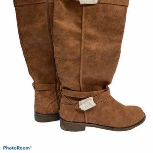 Primary Photo - BRAND: JUST FAB STYLE: BOOTS KNEE COLOR: CAMEL SIZE: 11 SKU: 311-31111-31471