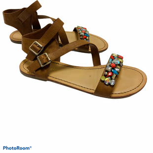 Primary Photo - BRAND: MADDEN GIRL STYLE: SANDALS FLAT COLOR: MULTI SIZE: 9.5 SKU: 311-31130-5744