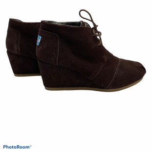 Primary Photo - BRAND: TOMS STYLE: BOOTS ANKLE COLOR: BROWN SIZE: 7.5 SKU: 311-31120-10538