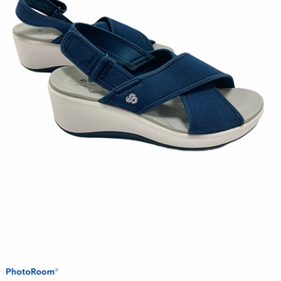 Primary Photo - BRAND: CLARKS STYLE: SANDALS LOW COLOR: BLUE SIZE: 8 SKU: 311-31120-16563