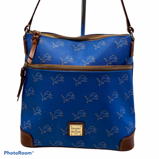 Primary Photo - BRAND: DOONEY AND BOURKE STYLE: HANDBAG DESIGNER COLOR: BLUE SIZE: MEDIUM OTHER INFO: DETROIT LIONS SKU: 311-31130-4579