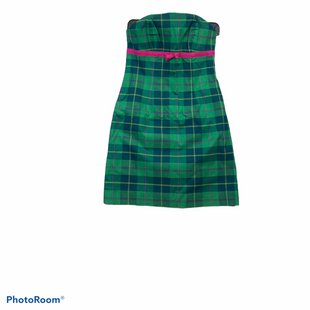 Primary Photo - BRAND: LILLY PULITZER STYLE: DRESS SHORT SLEEVELESS COLOR: PLAID SIZE: 0 SKU: 311-31116-2150