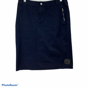 Primary Photo - BRAND: LAUREN BY RALPH LAUREN STYLE: SKIRT COLOR: NAVY SIZE: PETITE  MEDIUM OTHER INFO: 8P SKU: 311-31111-39707