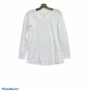 Primary Photo - BRAND: LULULEMON STYLE: ATHLETIC TOP COLOR: WHITE SIZE: 4 SKU: 311-31130-5810