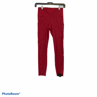 Primary Photo - BRAND: LULULEMON STYLE: ATHLETIC PANTS COLOR: RED SIZE: 4 SKU: 311-31111-40998