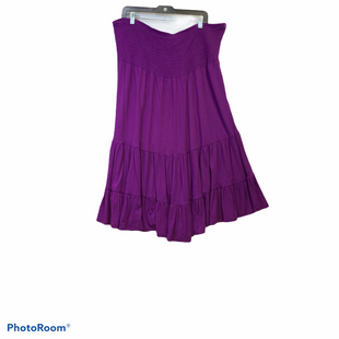 Primary Photo - BRAND: LANE BRYANT STYLE: SKIRT COLOR: PURPLE SIZE: 22 SKU: 311-31112-4583