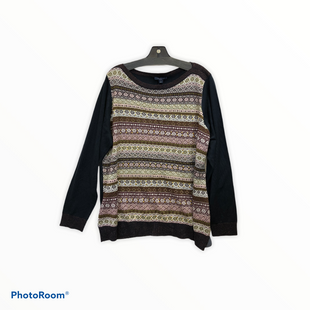 Primary Photo - BRAND: TOMMY HILFIGER STYLE: TOP LONG SLEEVE COLOR: MULTI SIZE: 1X SKU: 311-31111-39348