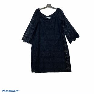 Primary Photo - BRAND: DONNA MORGAN STYLE: DRESS SHORT LONG SLEEVE COLOR: BLACK SIZE: L SKU: 311-31116-1988LACE