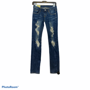 Primary Photo - BRAND:    CLOTHES MENTOR STYLE: JEANS COLOR: BLUE SIZE: 0 OTHER INFO: MACHINE - SKU: 311-31130-5270