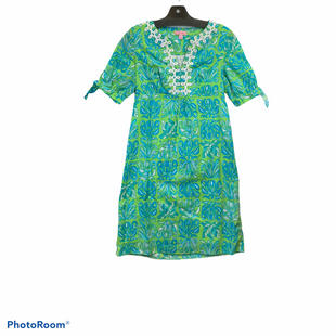 Primary Photo - BRAND: LILLY PULITZER STYLE: DRESS SHORT LONG SLEEVE COLOR: LIME GREEN SIZE: XS SKU: 311-31130-4956100% COTTON