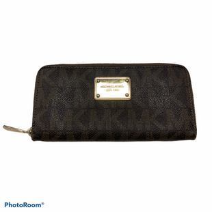 Primary Photo - BRAND: MICHAEL BY MICHAEL KORS STYLE: WALLET COLOR: BROWN SIZE: LARGE SKU: 311-31130-5684