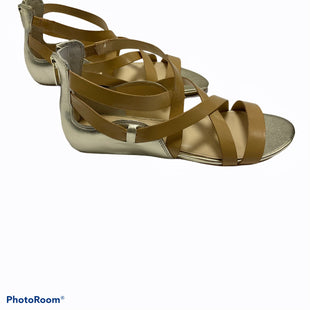 Primary Photo - BRAND: ENZO ANGIOLINI STYLE: SANDALS FLAT COLOR: GOLD SIZE: 8 SKU: 311-31120-3471