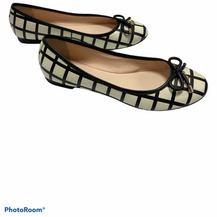 Primary Photo - BRAND: KATE SPADE STYLE: SHOES FLATS COLOR: BLACK WHITE SIZE: 7 OTHER INFO: AS IS SKU: 311-31116-2803WEAR ON BOTTOMS AND MARK ON TOP