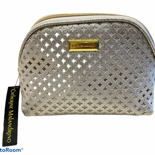 Primary Photo - BRAND: CATHERINE MALANDRINO STYLE: MAKEUP BAG COLOR: SILVER OTHER INFO: SMALL SKU: 311-31120-15802
