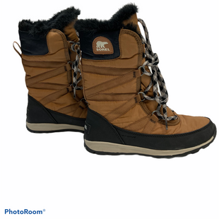 Primary Photo - BRAND: SOREL STYLE: BOOTS ANKLE COLOR: CAMEL SIZE: 5.5 SKU: 311-31111-30053