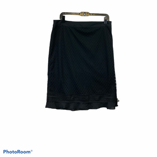 Primary Photo - BRAND: LIZ CLAIBORNE STYLE: SKIRT COLOR: BLACK SIZE: L SKU: 311-31130-3912