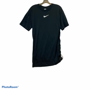 Primary Photo - BRAND: NIKE STYLE: DRESS SHORT SHORT SLEEVE COLOR: BLACK SIZE: XS SKU: 311-31130-5267GATHERED ON ONE SIDE